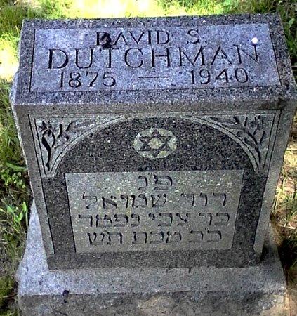 DUTCHMAN, DAVID S. - Black Hawk County, Iowa | DAVID S. DUTCHMAN