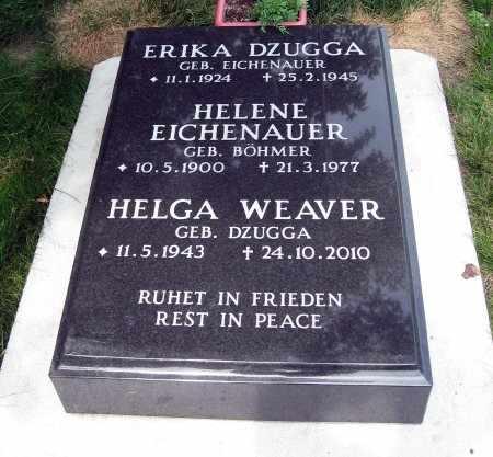 DZUGGA WEAVER, HELGA - Black Hawk County, Iowa | HELGA DZUGGA WEAVER