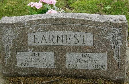 EARNEST, ROSE M. - Black Hawk County, Iowa | ROSE M. EARNEST
