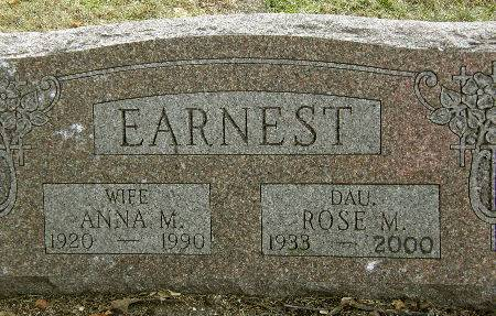 EARNEST, ROSE M. - Black Hawk County, Iowa | ROSE M. EARNEST