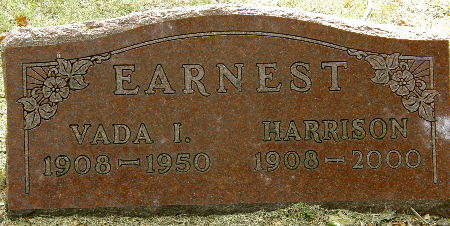 EARNEST, VADA I. - Black Hawk County, Iowa | VADA I. EARNEST