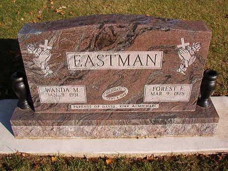 EASTMAN, FOREST E. - Black Hawk County, Iowa | FOREST E. EASTMAN
