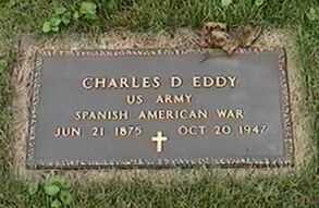 EDDY, CHARLES D. - Black Hawk County, Iowa | CHARLES D. EDDY