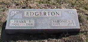 EDGERTON, VERONICA E. - Black Hawk County, Iowa | VERONICA E. EDGERTON