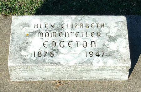 MOMENTELLER EDGETON, ALEY ELIZABETH - Black Hawk County, Iowa | ALEY ELIZABETH MOMENTELLER EDGETON