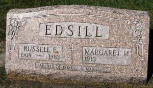 EDSILL, RUSSELL E. - Black Hawk County, Iowa | RUSSELL E. EDSILL