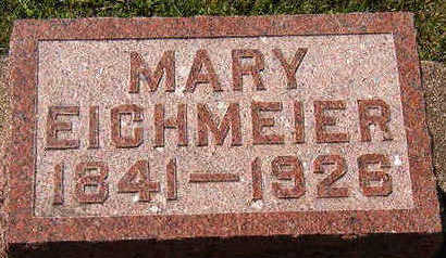 EICHMEIER, MARY - Black Hawk County, Iowa | MARY EICHMEIER