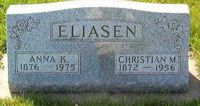 ELIASEN, ANNA K. - Black Hawk County, Iowa | ANNA K. ELIASEN