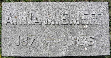 EMERT, ANNA M. - Black Hawk County, Iowa   ANNA M. EMERT