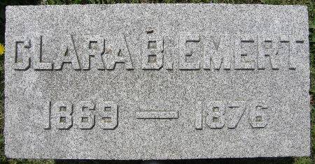 EMERT, CLARA B. - Black Hawk County, Iowa | CLARA B. EMERT