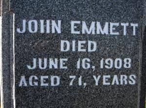 EMMETT, JOHN - Black Hawk County, Iowa   JOHN EMMETT