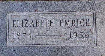 EMRICH, ELIZABETH - Black Hawk County, Iowa | ELIZABETH EMRICH