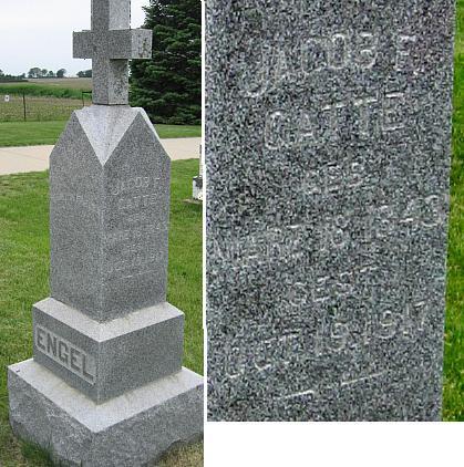 ENGEL, JACOB F. - Black Hawk County, Iowa | JACOB F. ENGEL