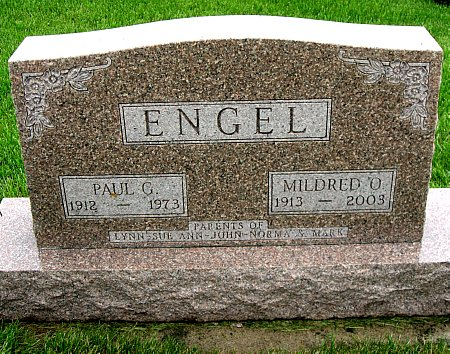 ENGEL, PAUL G. - Black Hawk County, Iowa | PAUL G. ENGEL
