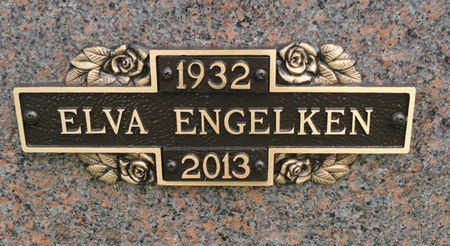 ENGELKEN, ELVA - Black Hawk County, Iowa | ELVA ENGELKEN