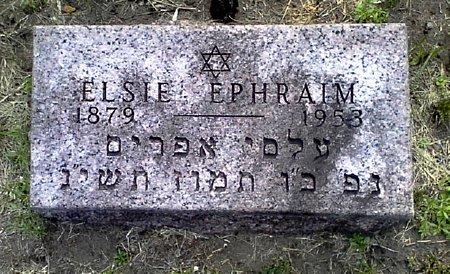 EPHRAIM, ELSIE - Black Hawk County, Iowa | ELSIE EPHRAIM