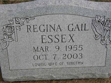 ESSEX, REGINA GAIL - Black Hawk County, Iowa | REGINA GAIL ESSEX