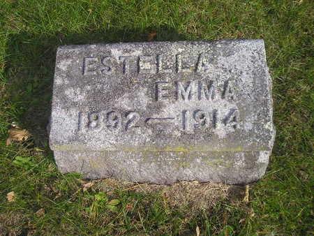 ESTELLA,, ESTELLA EMMA - Black Hawk County, Iowa | ESTELLA EMMA ESTELLA,