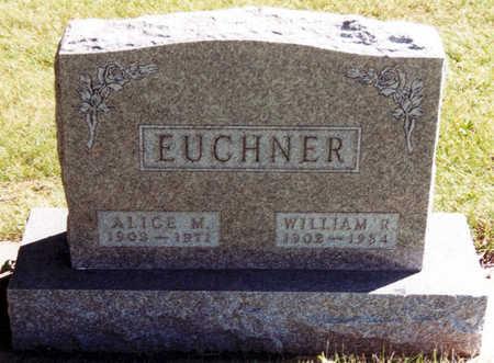 EUCHNER, ALICE M. - Black Hawk County, Iowa | ALICE M. EUCHNER