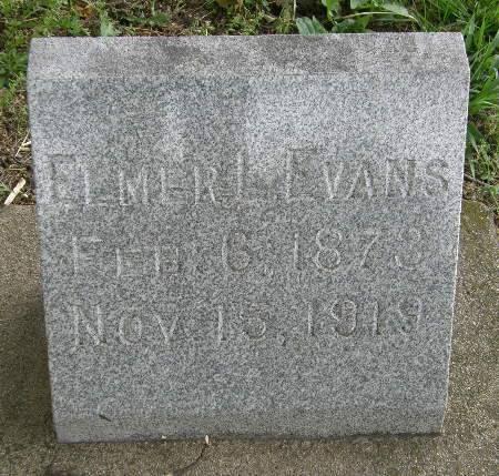 EVANS, ELMER L. - Black Hawk County, Iowa   ELMER L. EVANS