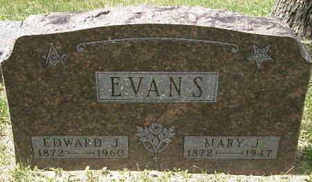 EVANS, EDWARD J. - Black Hawk County, Iowa | EDWARD J. EVANS