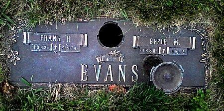 EVANS, EFFIE M. - Black Hawk County, Iowa | EFFIE M. EVANS