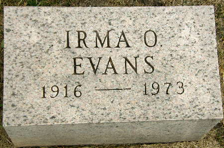 EVANS, IRMA O. - Black Hawk County, Iowa | IRMA O. EVANS