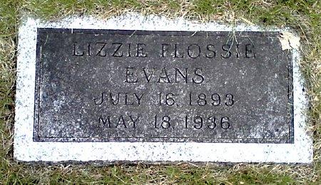 EVANS, LIZZIE FLOSSIE - Black Hawk County, Iowa | LIZZIE FLOSSIE EVANS