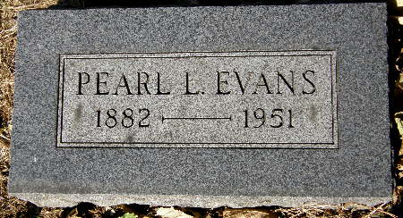 EVANS, PEARL L. - Black Hawk County, Iowa | PEARL L. EVANS