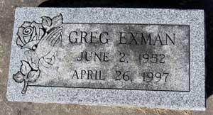 EXMAN, GREG - Black Hawk County, Iowa | GREG EXMAN
