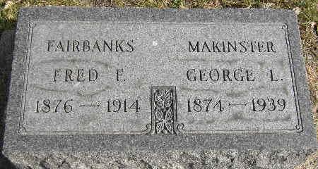 FAIRBANKS, FRED F. - Black Hawk County, Iowa | FRED F. FAIRBANKS
