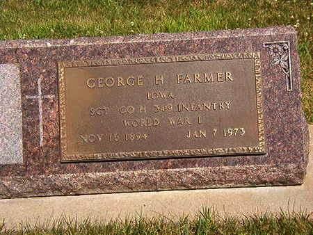 FARMER, GEORGE H. - Black Hawk County, Iowa | GEORGE H. FARMER