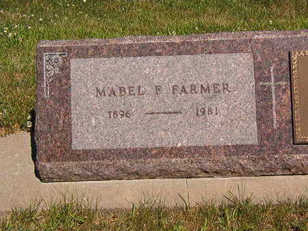 FARMER, MABLE F. - Black Hawk County, Iowa | MABLE F. FARMER