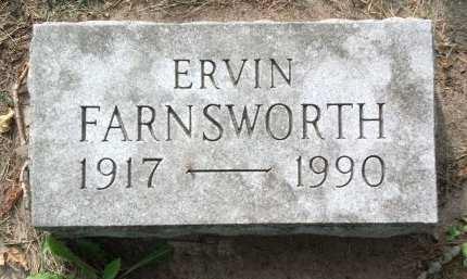 FARNSWORTH, ERVIN - Black Hawk County, Iowa | ERVIN FARNSWORTH