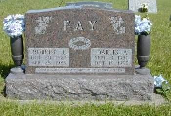 NESFIELD FAY, DARLIS ARLENE - Black Hawk County, Iowa | DARLIS ARLENE NESFIELD FAY