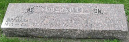 NIE FEDERSPIEL, MARY - Black Hawk County, Iowa | MARY NIE FEDERSPIEL