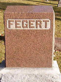 FEGERT, FAMILY STONE - Black Hawk County, Iowa   FAMILY STONE FEGERT