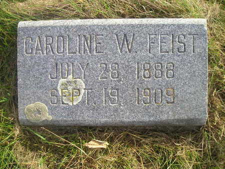 FEIST, CAROLINE W - Black Hawk County, Iowa | CAROLINE W FEIST