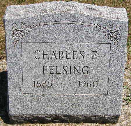 FELSING, CHARLES F. - Black Hawk County, Iowa | CHARLES F. FELSING