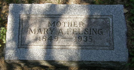 FELSING, MARY A. - Black Hawk County, Iowa | MARY A. FELSING
