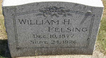FELSING, WILLIAM H. - Black Hawk County, Iowa | WILLIAM H. FELSING