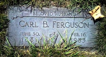 FERGUSON, CARL B. - Black Hawk County, Iowa | CARL B. FERGUSON