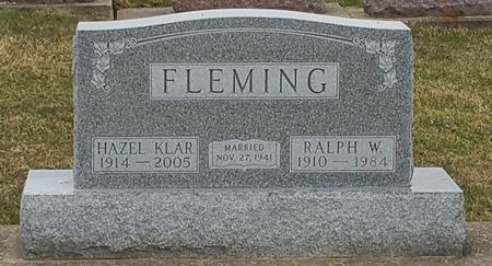 FLEMING, HAZEL - Black Hawk County, Iowa | HAZEL FLEMING
