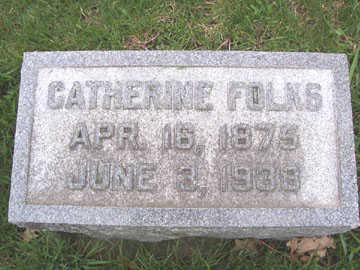 FOLKS, CATHERINE - Black Hawk County, Iowa | CATHERINE FOLKS