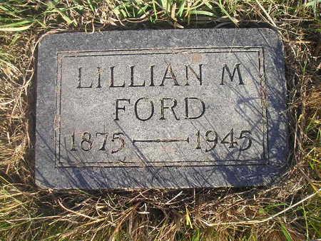FORD, LILLIAN M - Black Hawk County, Iowa | LILLIAN M FORD
