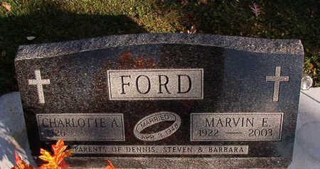 FORD, MARVIN E. - Black Hawk County, Iowa | MARVIN E. FORD