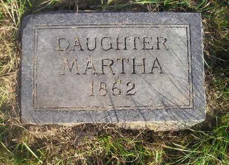 FORD, MARTHA - Black Hawk County, Iowa | MARTHA FORD