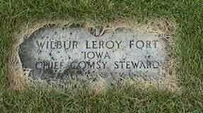 FORT, WILBUR LEROY - Black Hawk County, Iowa | WILBUR LEROY FORT