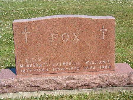 FOX, WILLIAM F. - Black Hawk County, Iowa | WILLIAM F. FOX