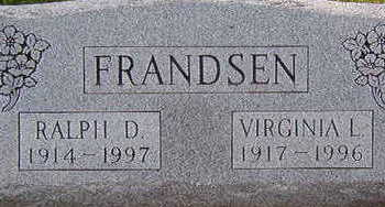 FRANDSEN, RALPH D. & VIRGINIA L. - Black Hawk County, Iowa   RALPH D. & VIRGINIA L. FRANDSEN